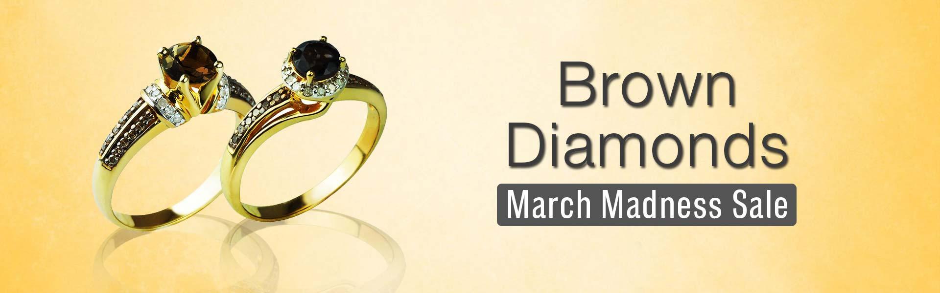 brown diamonds banner