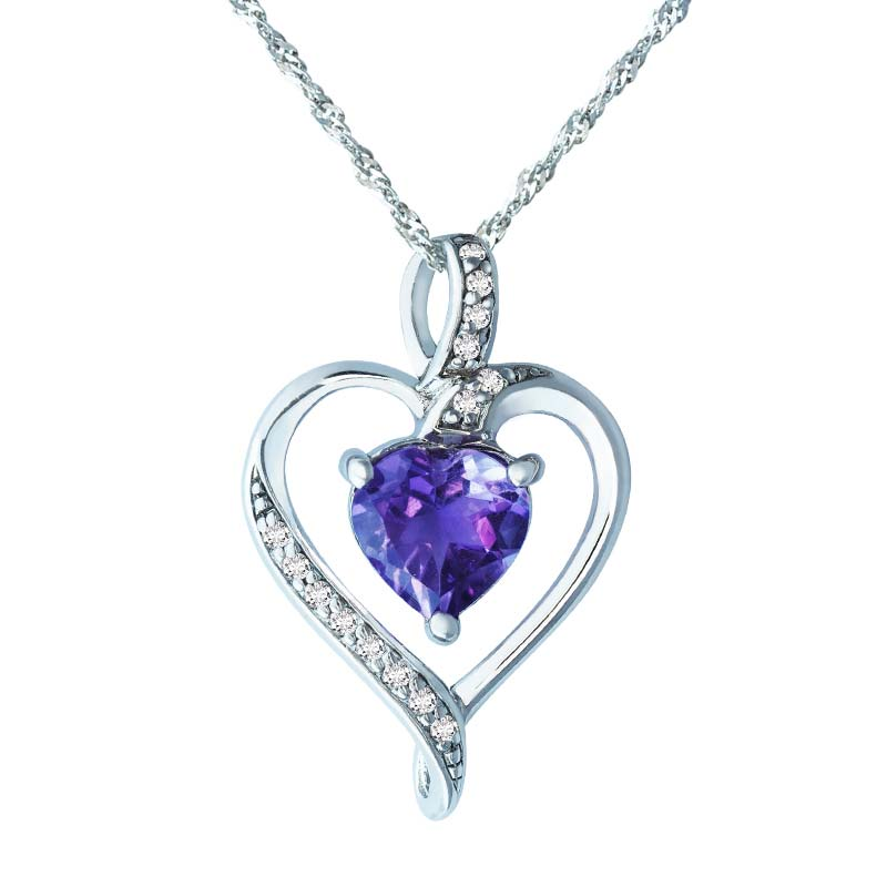 products crystals necklace plating pendant setting chain rhodium tone austrian main drop shaped pave crystal x micro silver shape upsera heart