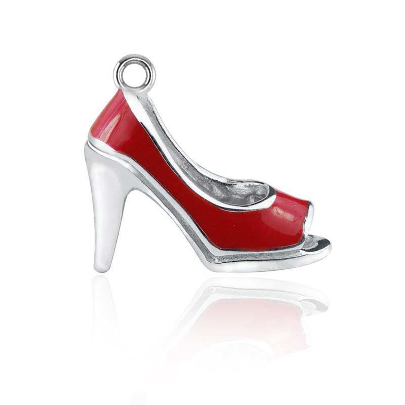 high heel women red shoe charm RSPT-0227