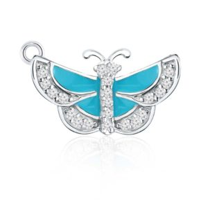 Breathtakingly beautiful Sterling Silver Butterfly Charm