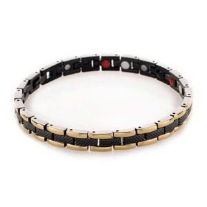 black gold ion bracelet