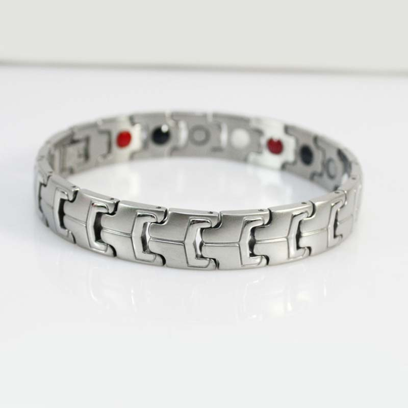 Bug Silver Ion Bracelet With Negative Ions