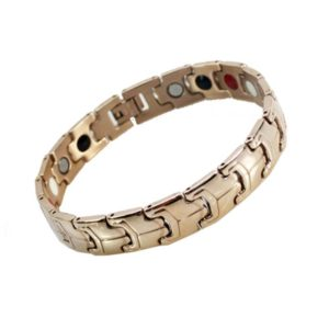 Negative Ion bug gold bracelet