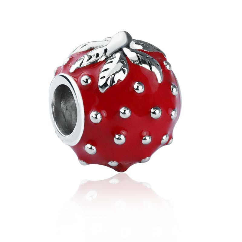 sterling silver tomato charm RSPT-0264