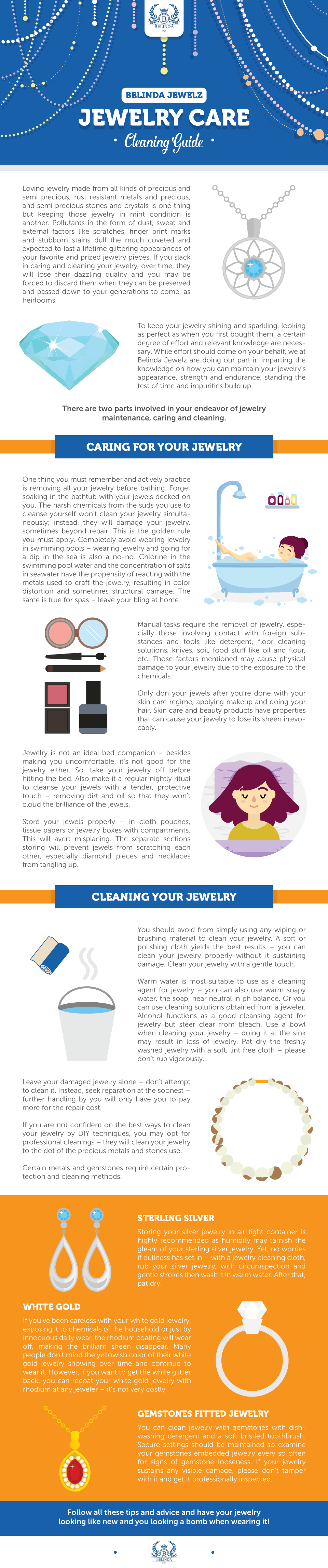 jewelry care belinda jewelz tips
