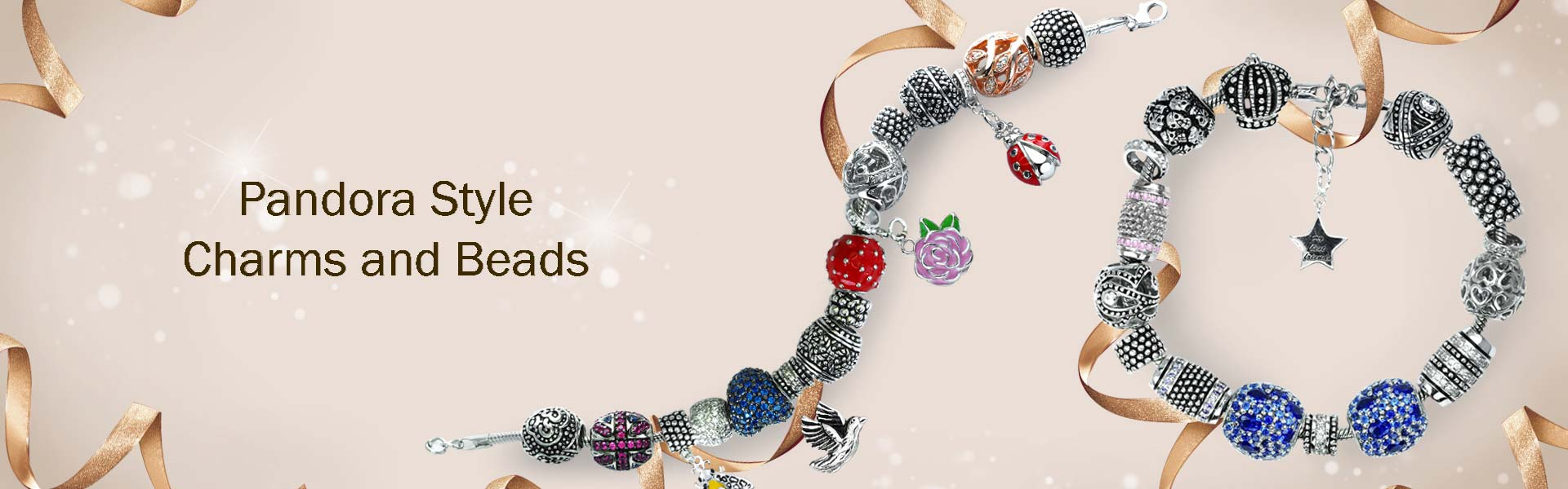 pandora style charms and beads