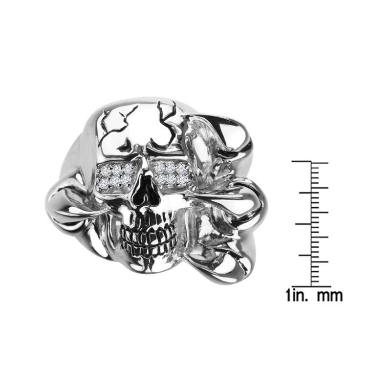 talon skull ring RSR-0583-2
