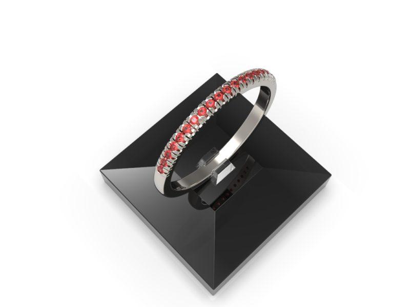 RSR 0938 Thicker Ring Ruby