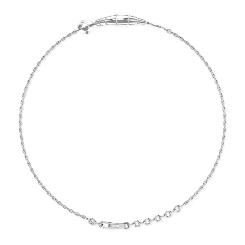 Solid Sterling Silver Sea Horse Charm Bracelet