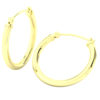 14k Yellow Gold Filled Lightweight Endless Hoop Earrings in 22mm