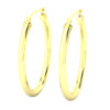 14k Yellow Gold Filled Lightweight Endless Hoop Earrings in 27mm