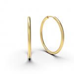 jessica never ending endless hoops 34mm belinda jewelz