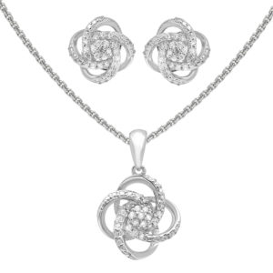 Love knot set belinda jewelz